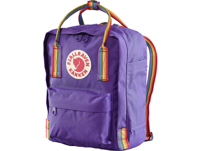Fjällräven Kånken Rainbow Mini Sac à dos, purple-rainbow pattern